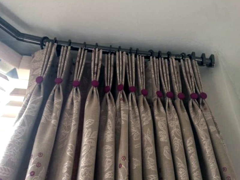 poled curtains